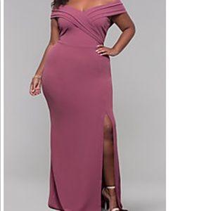 Formal Maroon Dress